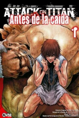 MANGA Attack On Titan Antes de la Caida